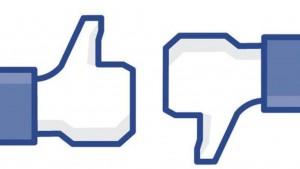 botón no me gusta facebook
